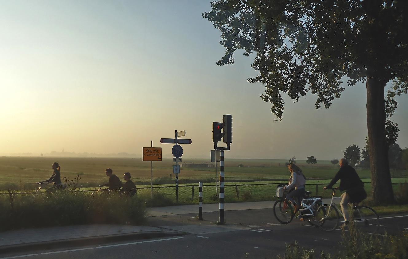 Holanda sobre plano
