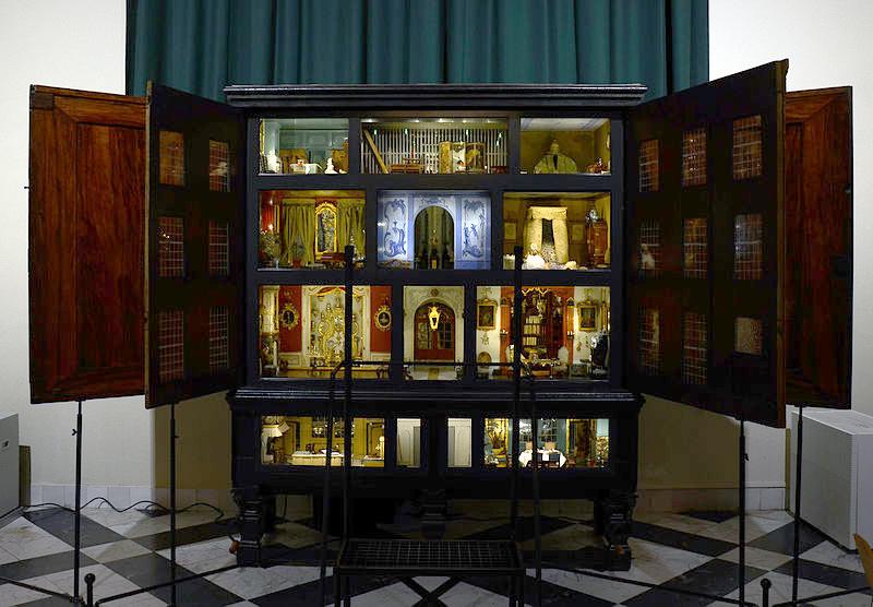 Una de las casas de Sara Rothé, en el Fran Hals museum de Haarlem.