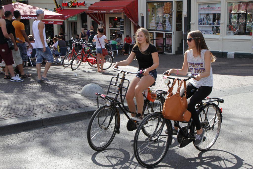Los accidentes en bici han aumentado, entre otras razones, por un mayor número de ciclistas, sobre todo mayores de setenta años. Más de la mitad de los jóvenes usan el móvil en la bici, algo que incrementa el riesgo de accidentes. Fotos: Pixabay