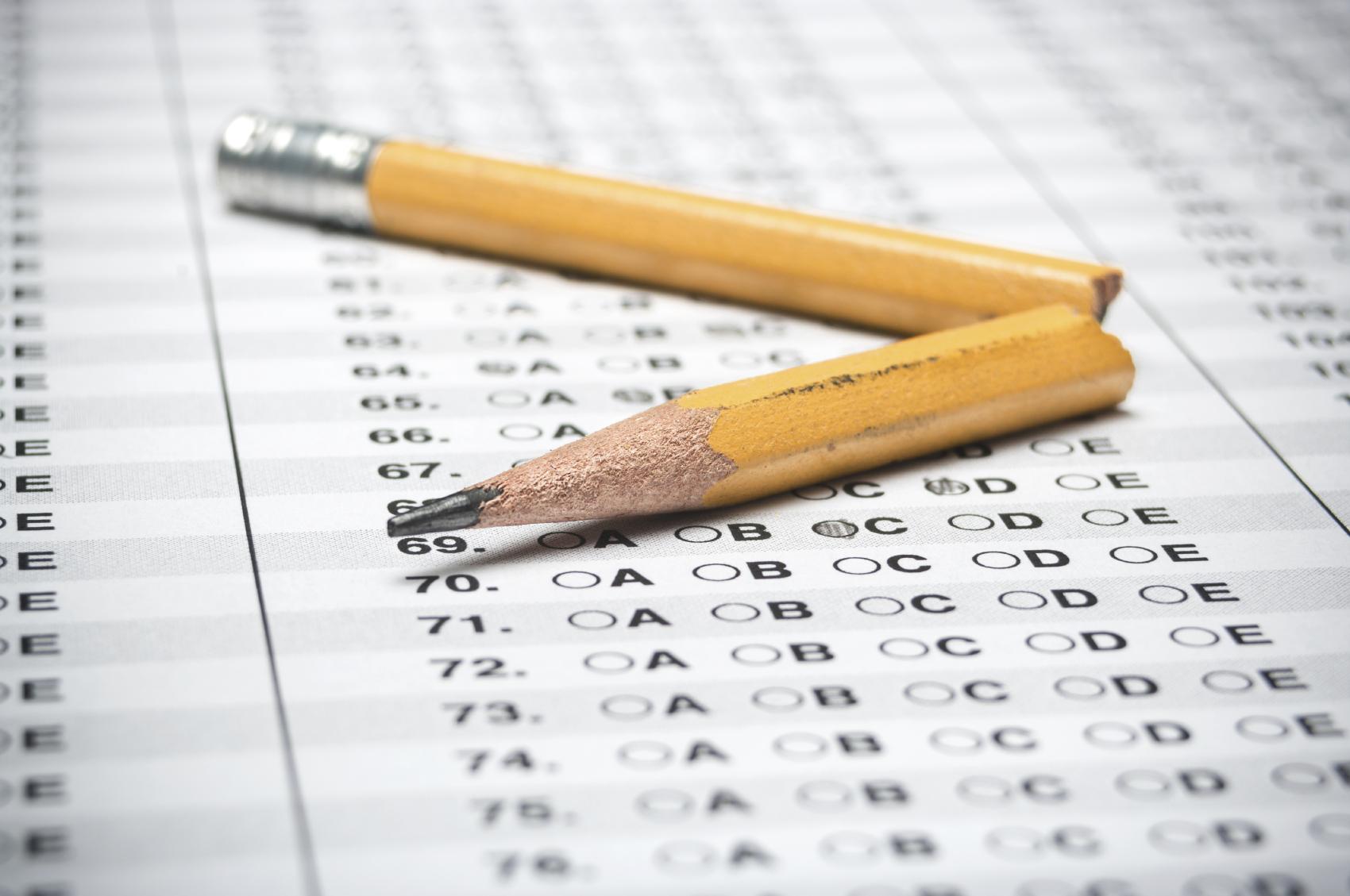 Examen tipo CITO que realizan los alumnos de primaria antes de pasar a bachillerato