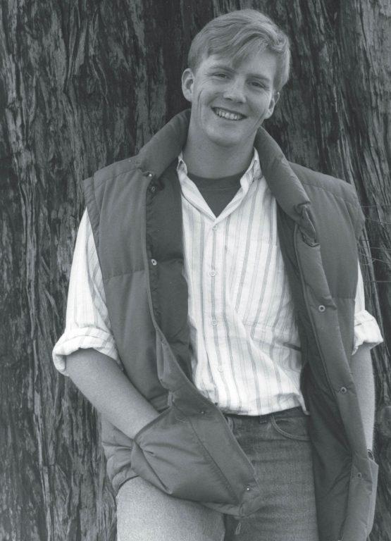 El príncipe Guillermo Alejandro en 1989