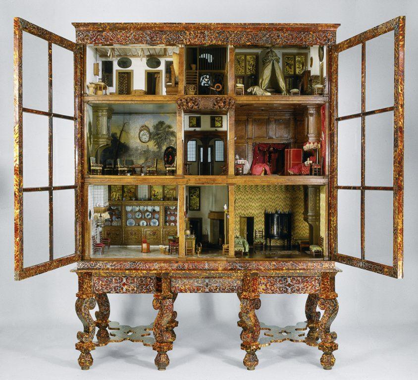 A la derecha, vista de la casa completa. © Rijksmuseum