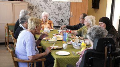 Una de las viviendas en la residencia Hogeweyk, donde viven siete personas acompañados por un asistente social a diario. © Hogeweyk