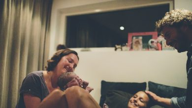 Meike da a luz a su tercera hija en casa © Elinoor Veldman