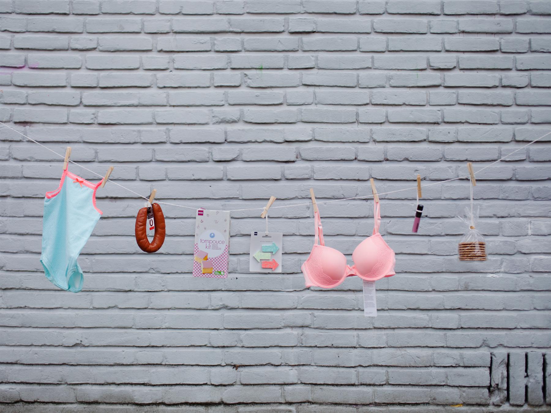 En la imagen, los tipos de producto de HEMA que más se venden en Holanda y en España © Fernández Solla Fotografie