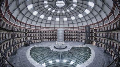 Interior de la cárcel circular de Breda, una de las pocas que existen en todo el mundo © Prison Escape