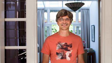 Raymond Fagel, en su casa, en Utrecht © Alicia Fernández Solla