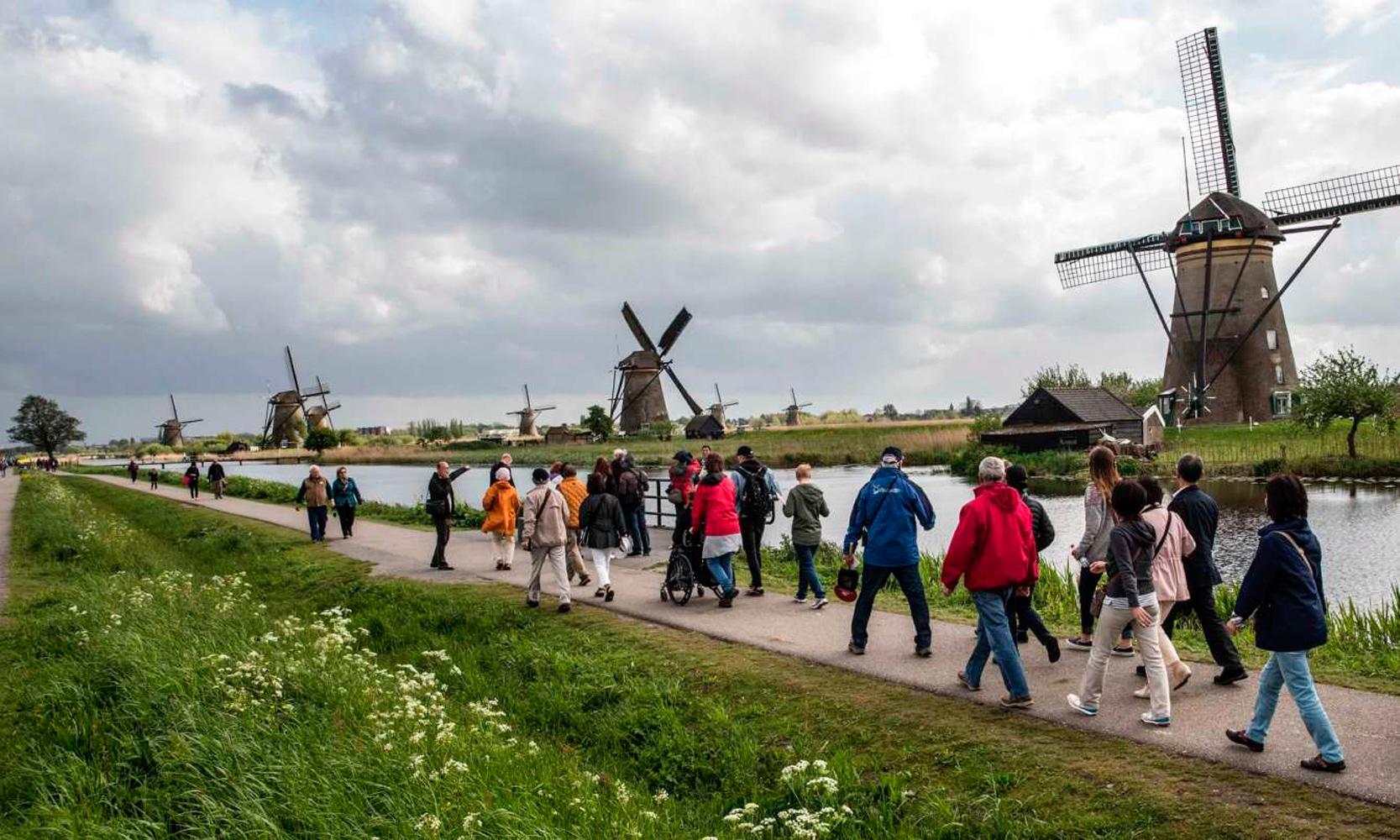 Kinderdijk_turistas
