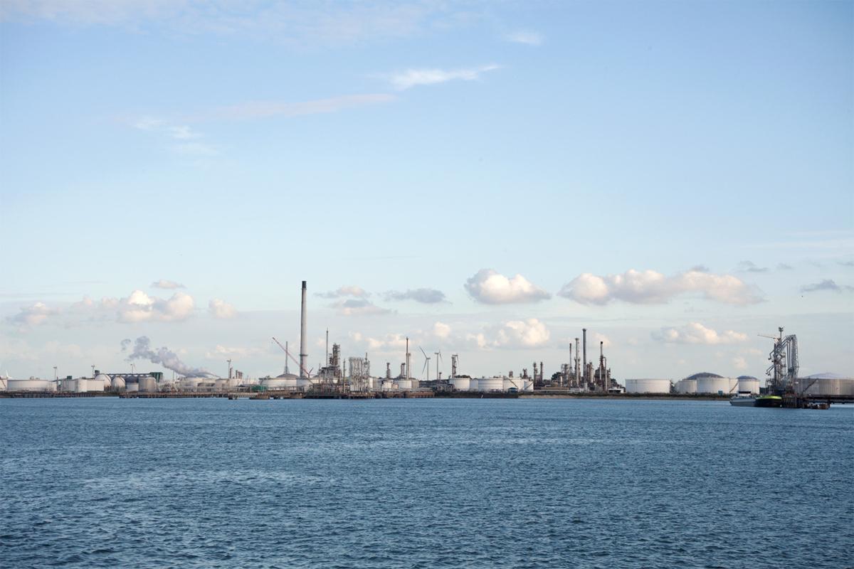 Área industrial del Europoort